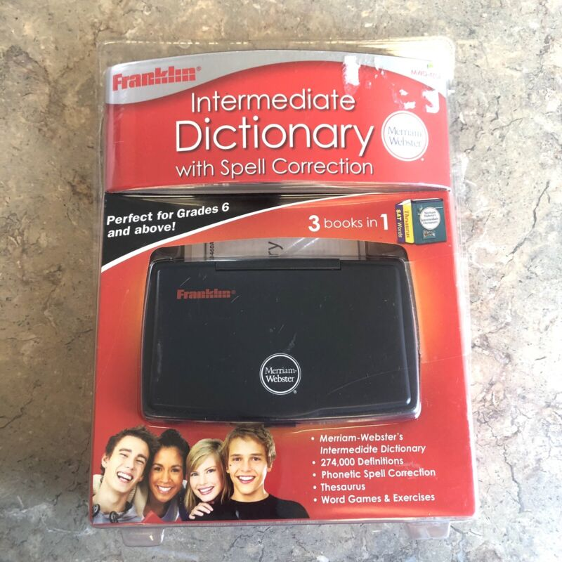 NEW Franklin MWD-460A Intermediate Dictionary With Spell Correction