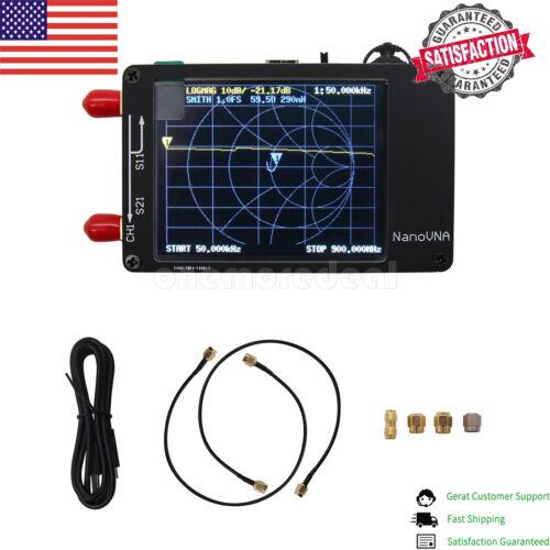 NEW! NanoVNA Vector Network Analyzer 50KHz-300MHz HF VHF UHF Analyzer US STOCK