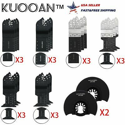20pcs Oscillating Multi Tool Bi-metal Saw Blade For Ryobi Ridgid Craftsman Fein