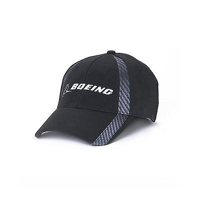 Boeing Carbon Fiber Print Hat - Black