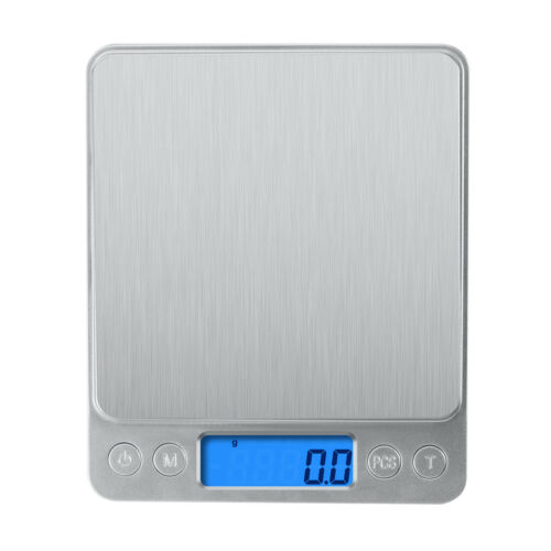 Digital Scale 3000g x 0.1g Jewelry Gold Silver Coin Gram Pocket Size Herb Grain