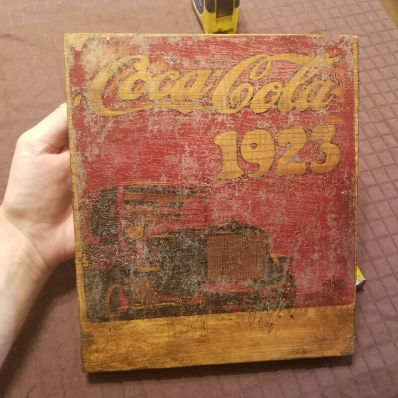 Old Coca Cola Sign wooden