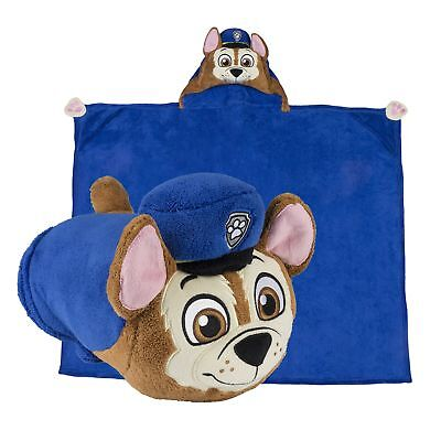 paw patrol chase pillow and blanket 1pc