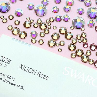 Genuine SWAROVSKI Crystals 2058 & 2088 Foiled Flat Backs No Notfix * Many Colors