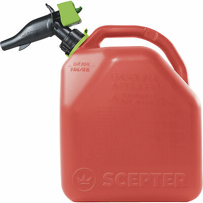 Scepter Smart Control Gasoline Fuel Can - 5-gallon Red Model Fr1g501
