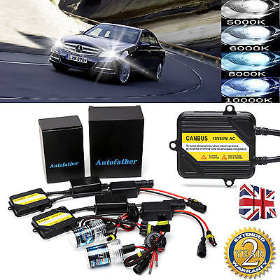 H7 AC CANBUS HID XENON CONVERSION KIT NO FLICKER For MERCEDES C CLASS ALL COLOR