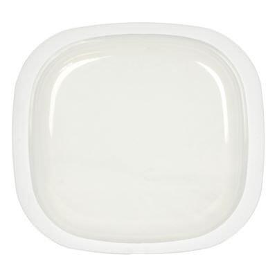 Corningware/Corelle 696-PC SimplyLite Plastic Oblong Replacement Lid Cover - Corelle Plastic Cover