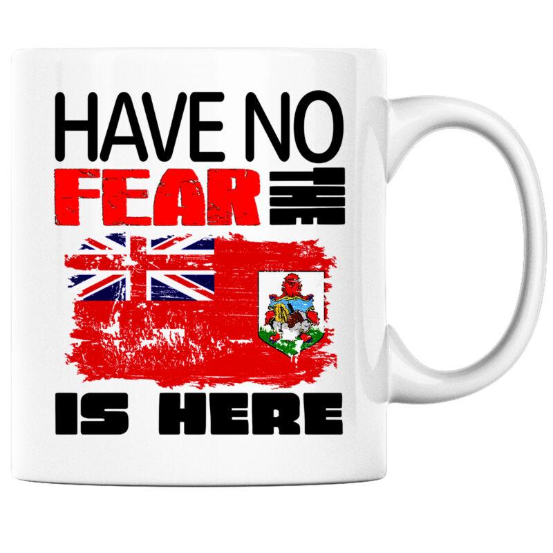 Have No Fear the Bermudans is Here Funny Coffee Mug Bermuda Heritage Pride