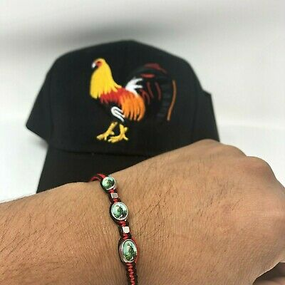 - Farm Game Figt gallo Rooster  Hat Snapback. Black Baseball cap. Pulsera Gratis