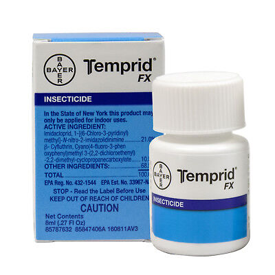 - Temprid Bed Bug Killer Spray Temprid FX Insecticide Mks 1GL -NOT FOR SALE TO: NY