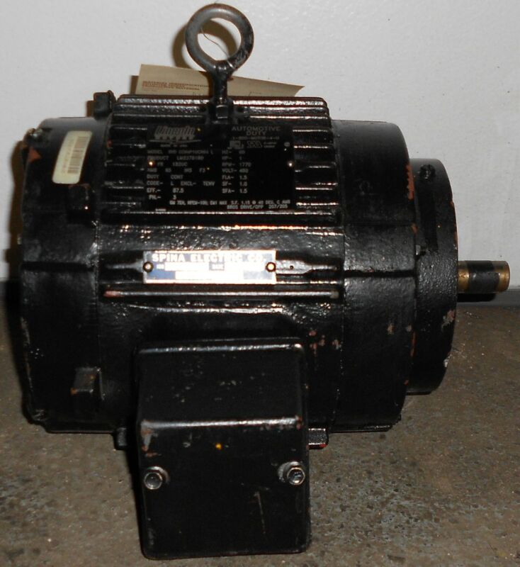 Lincoln Remanufactured Electric Motor 1.5 HP  1770 RPM 11505WT