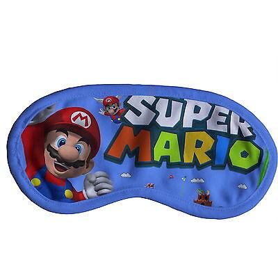 Super Mario Bros Mario Schlafmaske Augenmaske mit Elastikband y44 w0085 ()