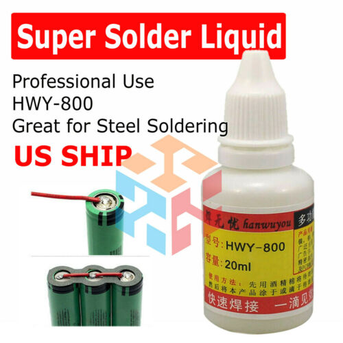 20ml Stainless Steel Flux Soldering Paste Stainless Steel Liquid Solder Tool