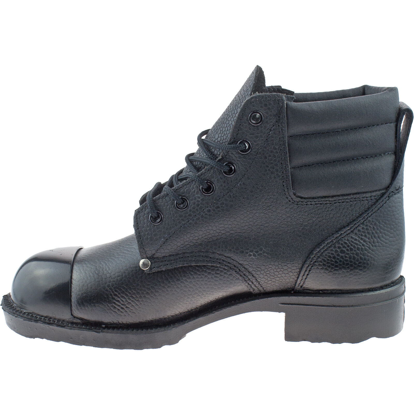 f832596fc6d MENS GRAFTERS COMBAT CADET BOOTS SIZE UK 3-15 TACTICAL BLACK LEATHER M671A  KD Herrenschuhe