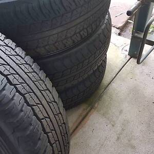 4 Hilux rims and tyres Darwin CBD Darwin City Preview