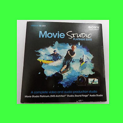 Sony Movie Studio Platinum 12 Suite DVD Version   - 100 Units Bulk Purchase