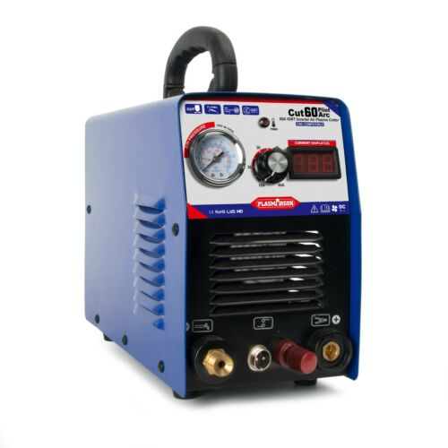 ICUT60 Pilot Arc Portable IGBT Plasma Cutter Machine Non-Touch CNC Metalworking