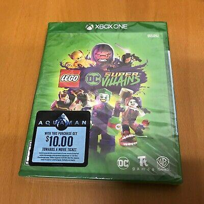 NEW! LEGO DC SUPER VILLAiNS (Microsoft XBOX ONE) Sealed! SHIPS FREE