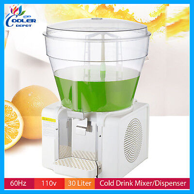 Cold Drink Dispenser Beverage Juice Machine Agua Fresca Bowl Cooler Depot