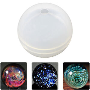 Ball Orb Sphere Paperweight Silicone Mould for Resin Casting
