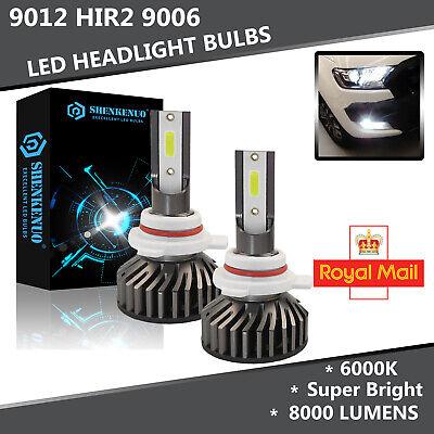 Vauxhall Chevette 55w Super White Xenon HID Low Dip Beam Headlight Bulbs Pair