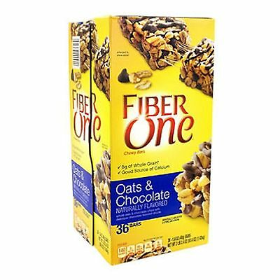 Fiber One Oats and Chocolate Chewy Bars (1.4 oz., 36 ct.) ()