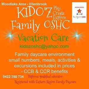 Vacation Care 4-12 yrs Family Daycare Ellenbrook Swan Area Preview