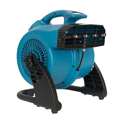 XPOWER FM-48 Outdoor Cooling Misting Fan Dog Boarding/Day Care/Outdoor Kennels