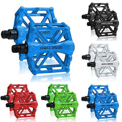 BICICLETTA Pedal MTB MOUNTAIN BICI BMX CICLISMO CUSCINETTI lega di alluminio
