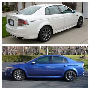 Wanted 2007-2008 white or blue Acura TL type s