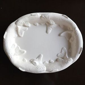 Decorative Oval Japanese Koi fish Large Platter NEW Wahroonga Ku-ring-gai Area Preview