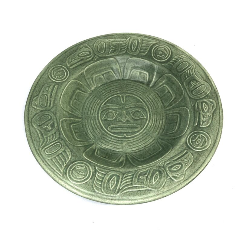 RAVEN LIGHT BY LYLE WILSON UBC MUSEUM OF ANTHROPOLOGY CERAMIC PLATE 10