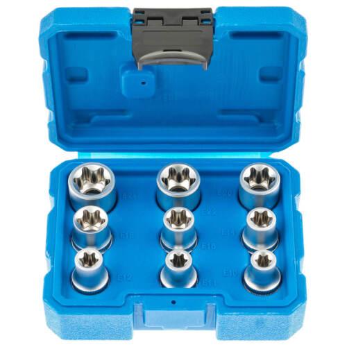 SWV Torx E Profil Steckschlüsseleinsätze außen Torx Nüsse 14Teilig  8407033
