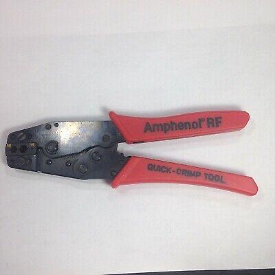 Amphenol Rf Quick-crimp Tool