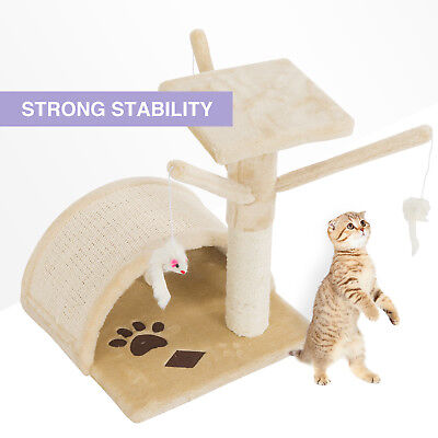 Mecor Kitten Cat Tree Scratching Condo Furniture Scratch Post Play Toy House