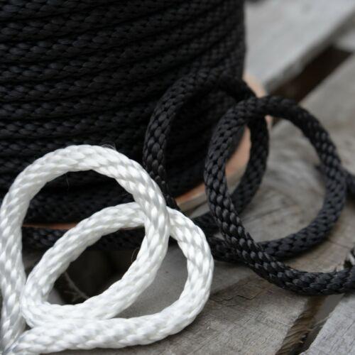 Solid Braid Nylon Rope Marine Utility Dock Lines Industrial Cargo Tie Down Tents