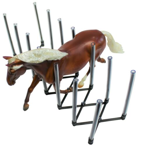 Traditional - Collapsible Model Horse Display Rack Holder - HorseRack V2
