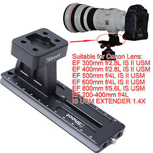 Anello-treppiedi-Base-piastra-sgancio-rapido-per-Canon-EF-800mm-f-5-6L-IS-USM