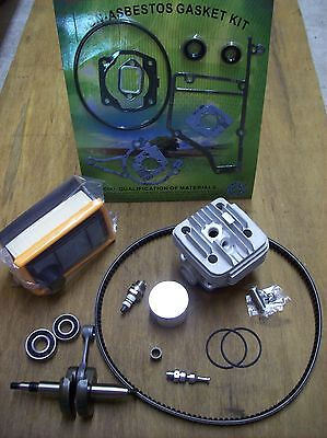Stihl Ts400 Rebuild Kit Overhaul - Fits Ts 400 Stihl Saw - Cylinder Piston
