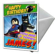 Lego Birthday Card