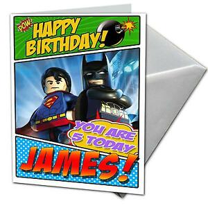 Lego birthday ebay lego birthday cards bookmarktalkfo Image collections