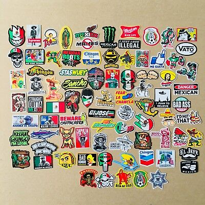 Super Mexican Hard Hat Stickers 82 Mexico Hardhat Sticker Decals Helmet Mx