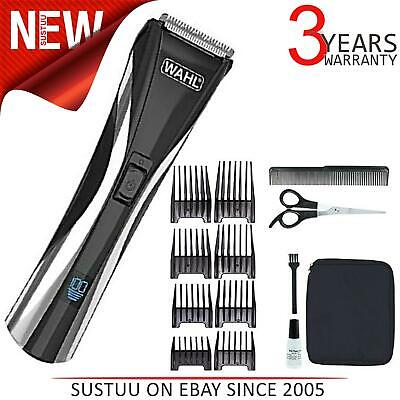 Wahl Action Pro Vision LCD Cord/Cordless Rechargeable Hair Clipper Kit│9697-217│