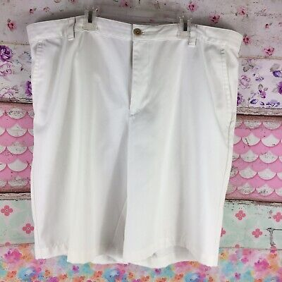 Mesh Slip Pocket (Izod White Golf Shorts 40 No Slip Waist Band 4 Pocket Mesh Front)