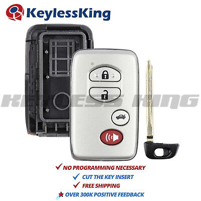 Keyless Entry Remote Shell Case Cover 4b for Toyota HYQ14AAB HYQ12ACX HYQ14AEM