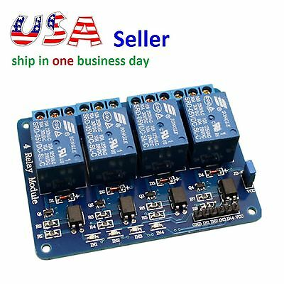4 Channel Relay Module 5v Isolation Control 250v10a Relay Shield For Arduino