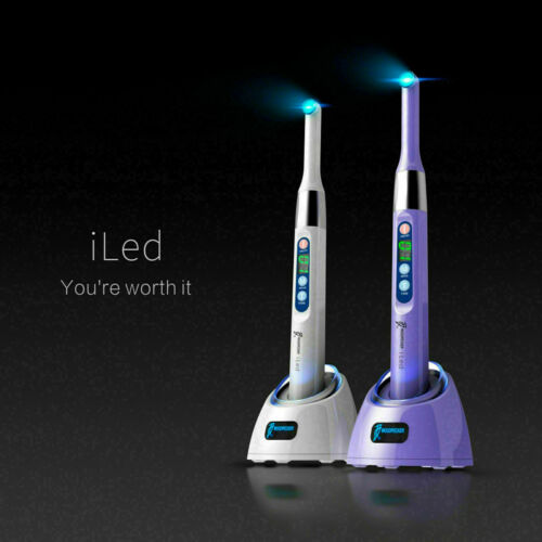Woodpecker New I Led Dental Curing Light 1 Second Cure Lamp 3000Mw/Cm2 Original!