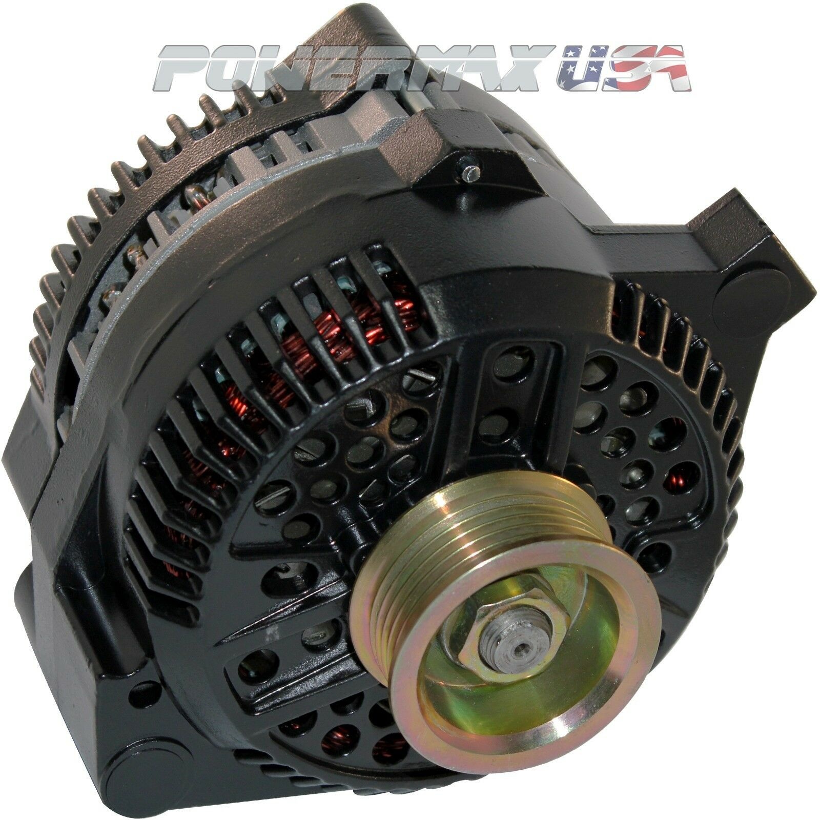 alternator fits ford mustang one wire black 1 wire high. Black Bedroom Furniture Sets. Home Design Ideas