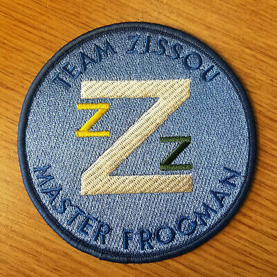 The Life Aquatic Team Zissou Master Frogman 4 inch round Costume Patch  (The Life Aquatic Costume)