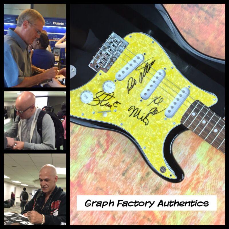 GFA Milo Aukerman Band * THE DESCENDENTS * Signed Electric Guitar PROOF AD2 COA